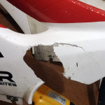 Reparaturbericht im Motorrad Blog - Nach dem Kiesbett