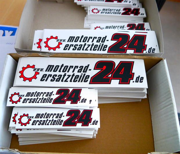 Motorrad-Ersatzteile24 Logo als Aufkleber | Motorrad Blog