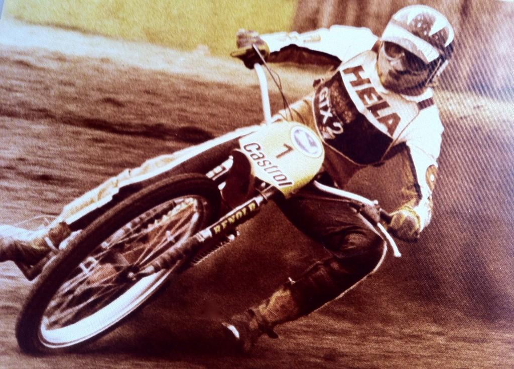 Egon Müller auf Testfahrt - Den Speedway-Titel im Auge - Motorrad Blog