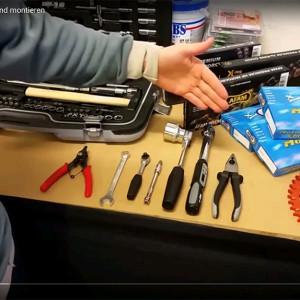 Wir zeigen euch wie man einen Kettensatz am Motorrad wechselt