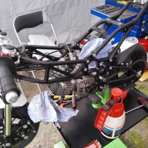 Pocket Bike von Innen - der Choke hatte Luft gezogen