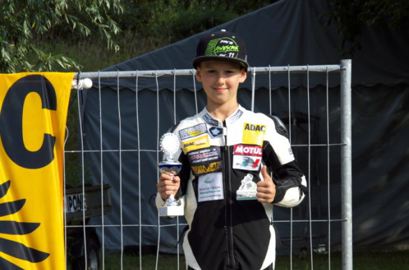 Mein erster Pokal - danke auch an Motorrad-Ersatzteile24.de!