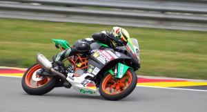 Nick Filler auf KTM auf dem Sachsenring