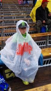 Total motiviert...Regen ist nicht nur für die Rennfahrer doof.