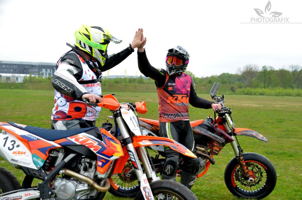 Unser Ziel: Das letze Rennen der Internationalen deutschen Supermoto Meisterschaft (IdSM) am Harzring