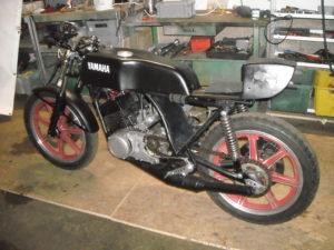 Yamaha RD 250 Armin Collet