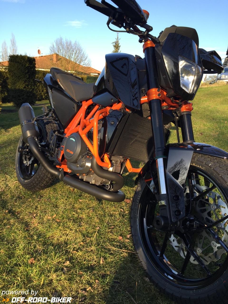 Duke4R Umbau 2 mit Braking Bremsscheiben
