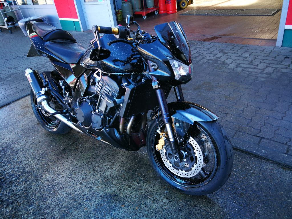 Motorrad Bike Clean & Care Pakete Test Z 1000
