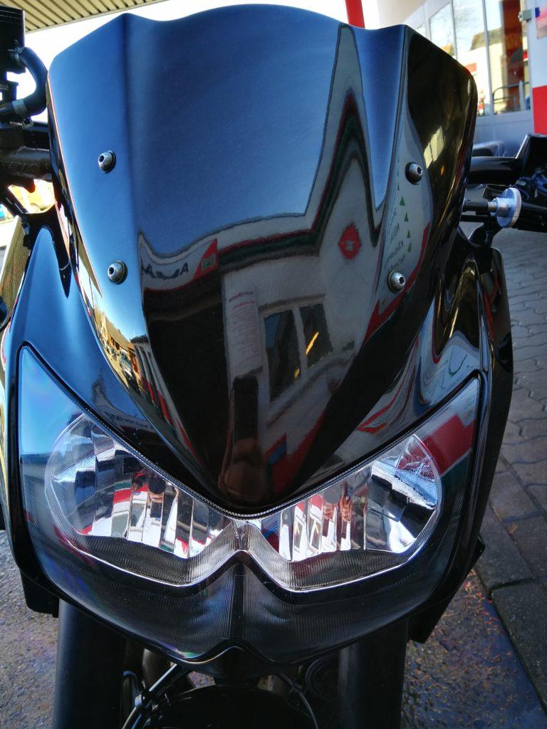 Z 1000 Kawasaki Windschild