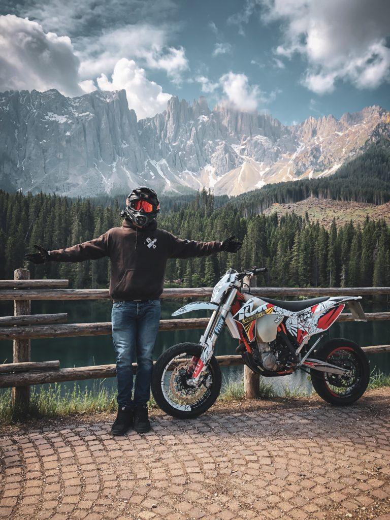 Braking Härtetest in den Dolomiten
