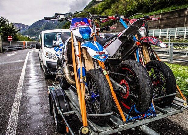 Braking Beläge für KTM EXC zum Stunten - ein Testbericht