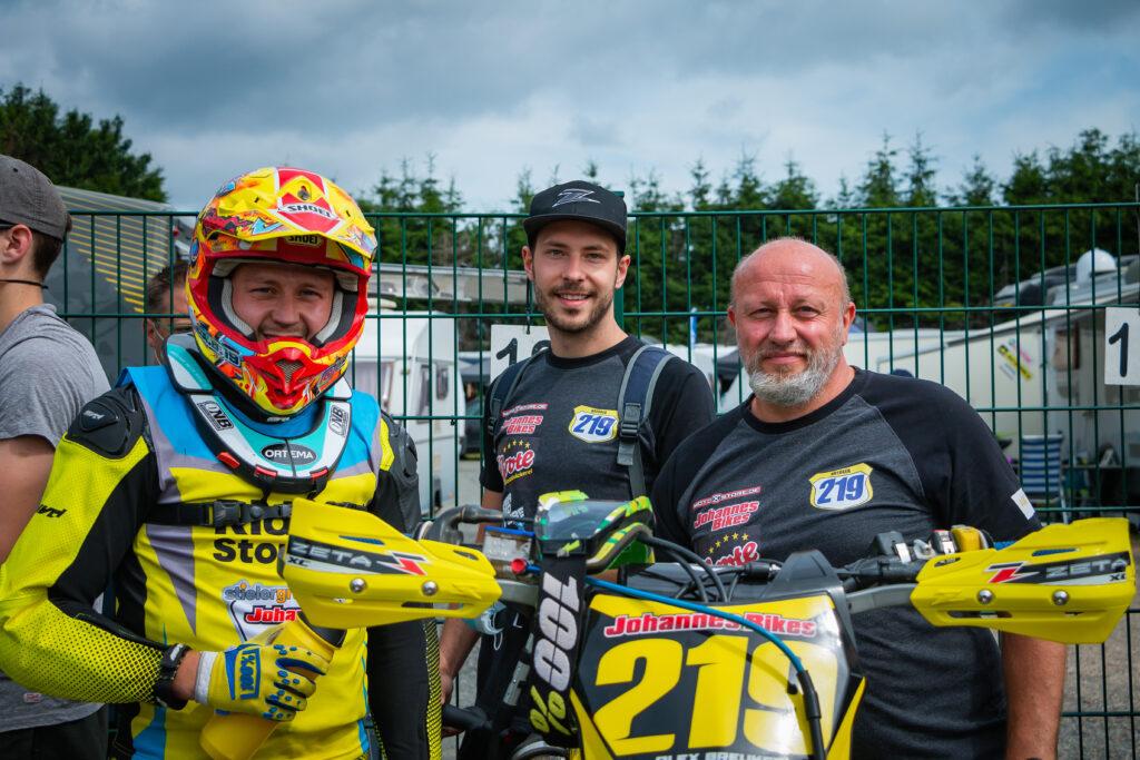 Das Team um Alex Breuker in Wittgenborn
