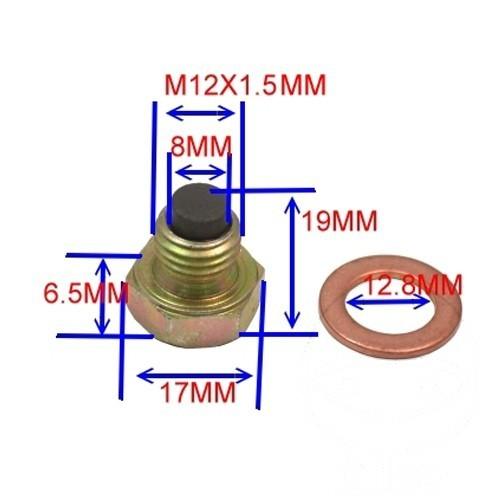 Ölablaßschraube magnetisch Honda CM 125 450 200 185 250 CMX 250