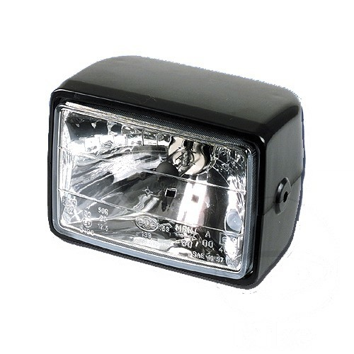 212300 Motorrad Scheinwerfer Hauptscheinwerfer Set Chromn Fern /& Abblendlicht E